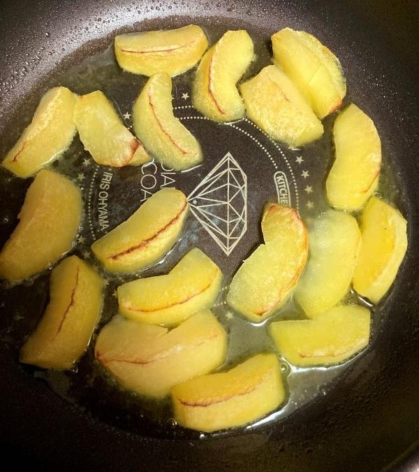 焼きリンゴ ヘルシオ