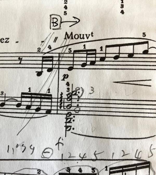 ピアノ練習   1オクターブ